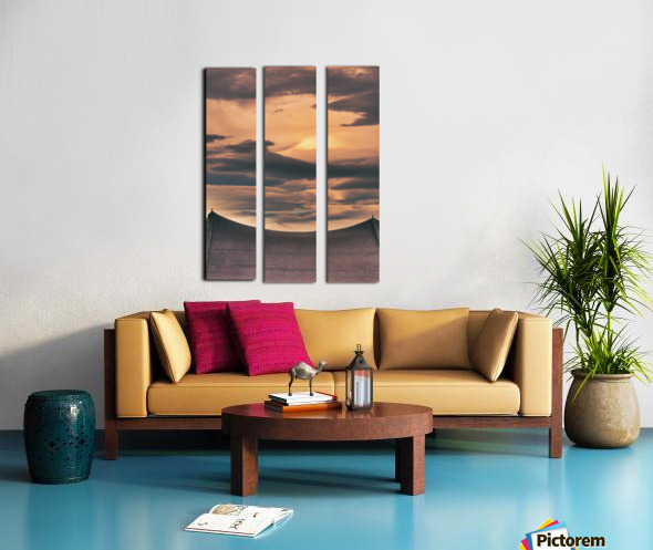 One On Each Point Split Canvas print