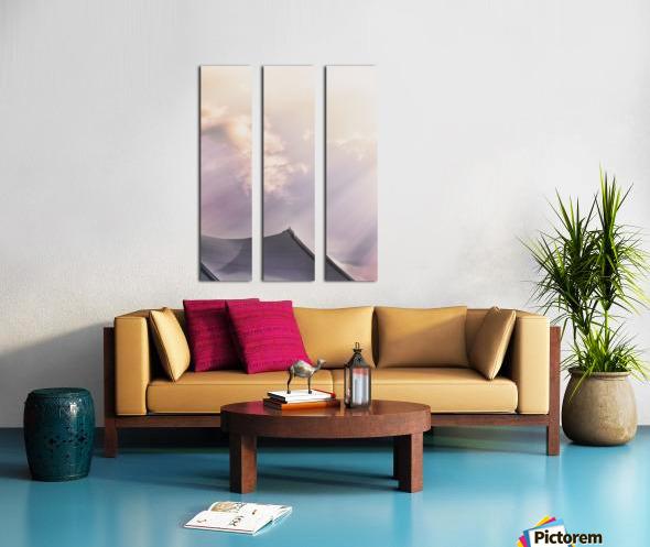 Top Of The Tent Split Canvas print