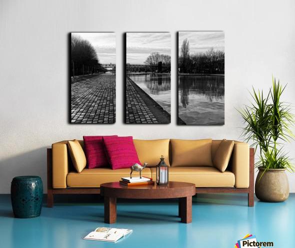 Ourcq canal Toile Multi-Panneaux