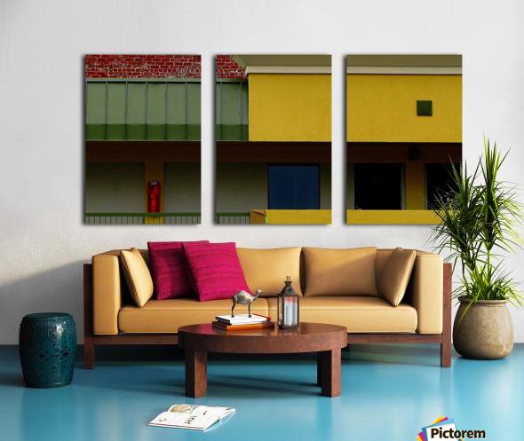 Minus Hopper Split Canvas print