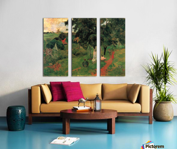 To and Fro by Gauguin Split Canvas print