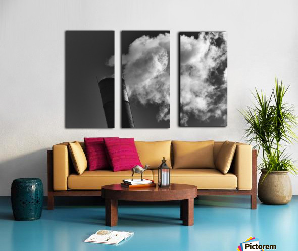 SMOKESTACK NUMBER TEN Split Canvas print
