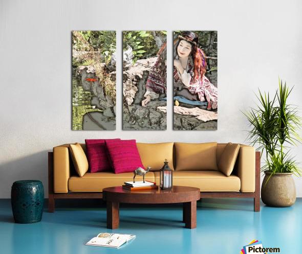 A FAIRY TALE STORY -Art- Photo  1-4  Split Canvas print