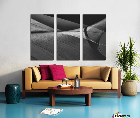 Abstract Sailcloth 15 Split Canvas print