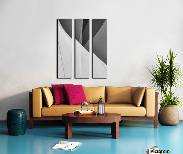 Abstract Sailcloth 2 Split Canvas print