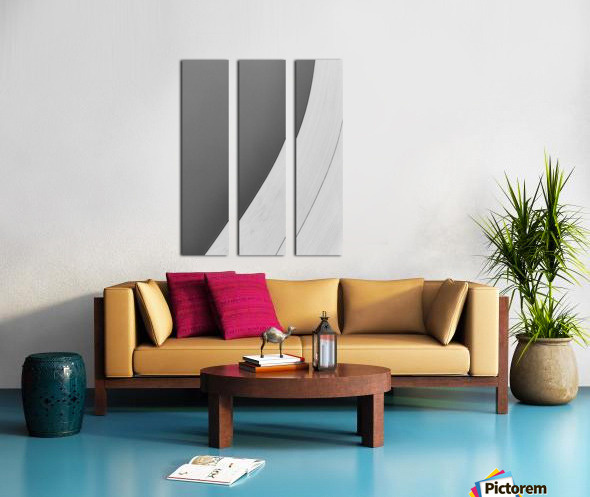 Abstract Sailcloth 7 Split Canvas print