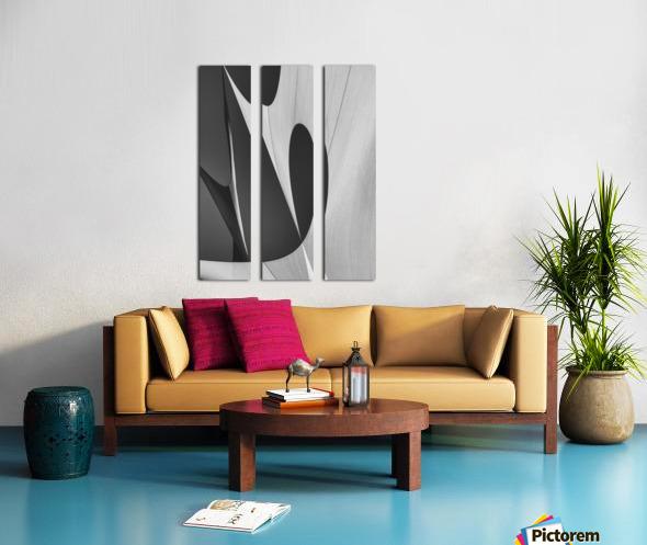 Abstract Sailcloth 10 Split Canvas print