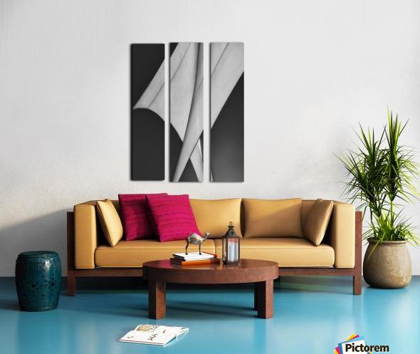 Abstract Sailcloth 9 Split Canvas print