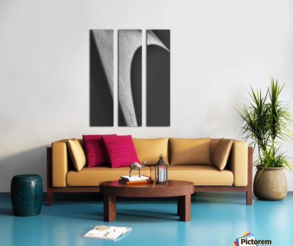 Abstract Sailcloth 12 Split Canvas print