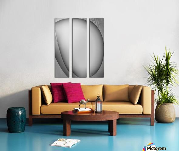 Abstract Sailcloth 6 Split Canvas print