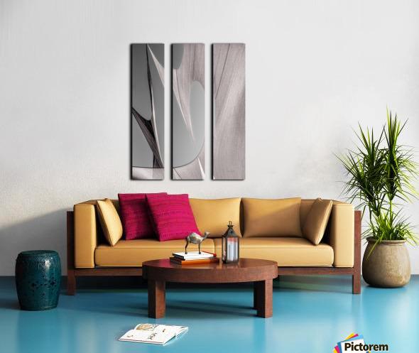 Abstract Sailcloth 20 Split Canvas print