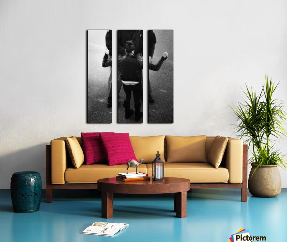 Detain and Search 2 Split Canvas print