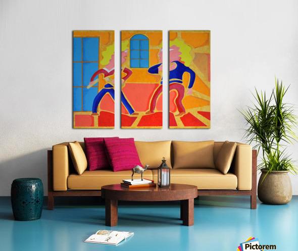 partage Split Canvas print