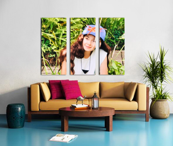 YOU ARE MY JEWEL  Collection 2-5 Split Canvas print