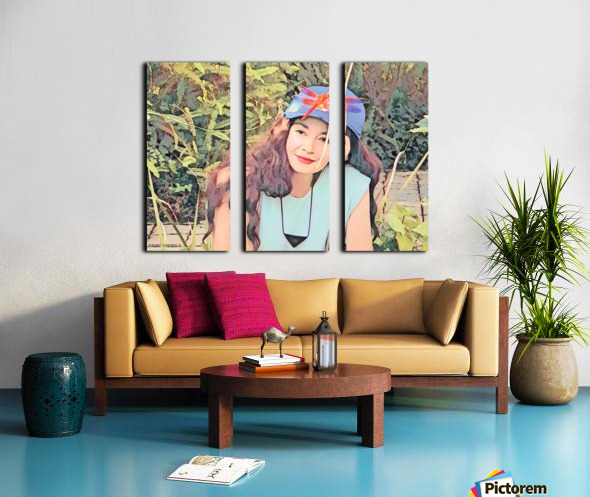 YOU ARE MY JEWEL -Art-Photo  2-5 Split Canvas print