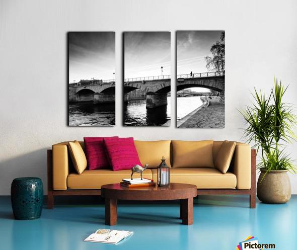 Archeveche bridge Toile Multi-Panneaux