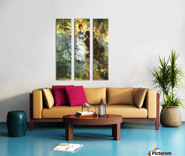 Twosome Split Canvas print