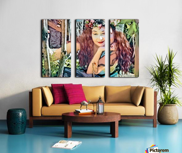 A TINY BEING WITH A BIG MISSION  Photo - Art Collection  1-6 Split Canvas print