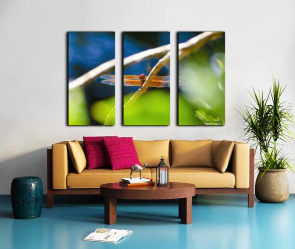 HELLO WORLD   Split Canvas print