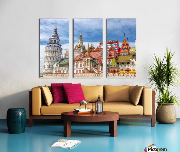 Kremlin Split Canvas print