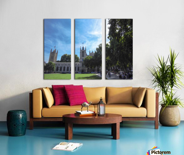 Snapshot in Time Quintessential London 5 of 5 Split Canvas print