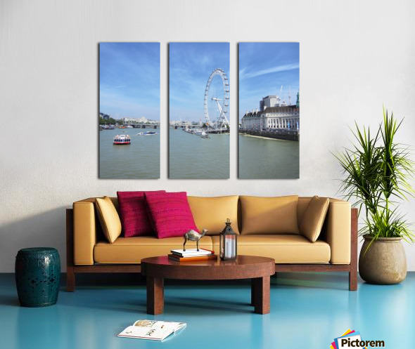 Snapshot in Time Quintessential London 4 of 5 Split Canvas print