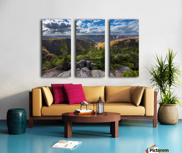 Cape Clear Split Canvas print