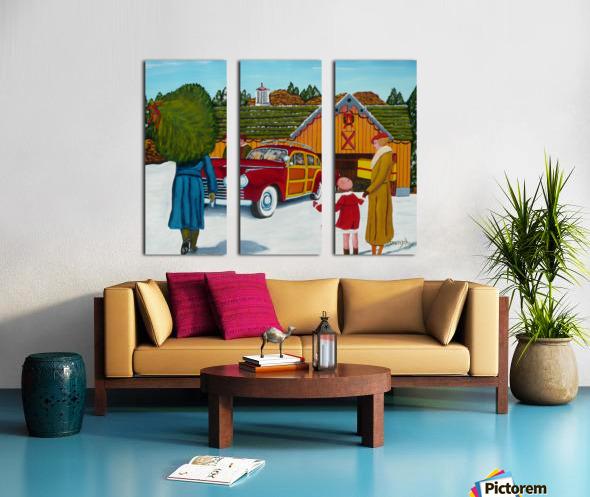 Buying The Tree Split Canvas print