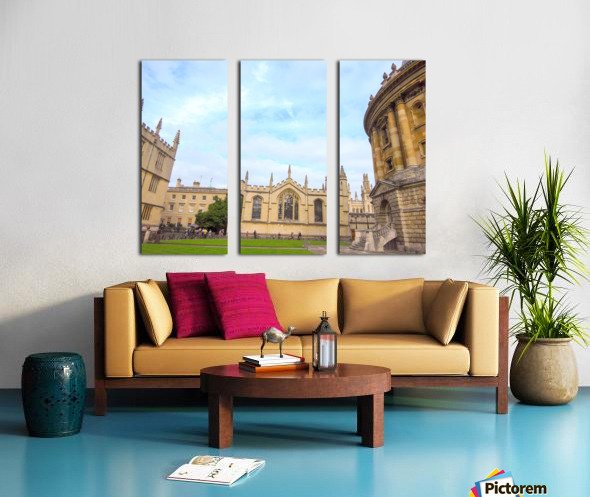 Snapshot in Time Presents a Visit to Oxford 2 of 8 Split Canvas print