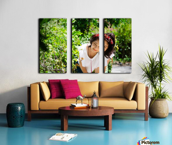 TELL ME MORE...Collection  1-6 Split Canvas print