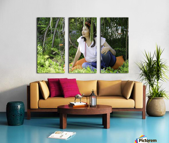 TELL ME MORE...Collection 3-6 Split Canvas print