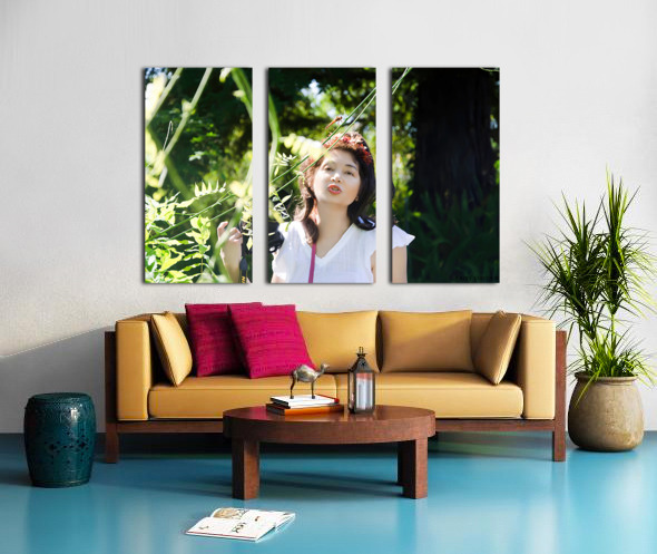TELL ME MORE...Collection 5-6 Split Canvas print