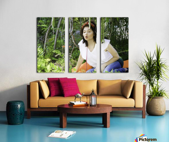 TELL ME MORE...Collection 6-6 Split Canvas print