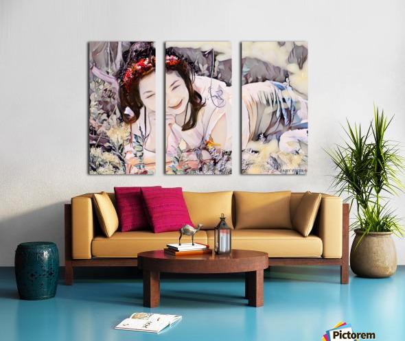 TELL ME MORE Art -Photo Collection  2-6 Split Canvas print