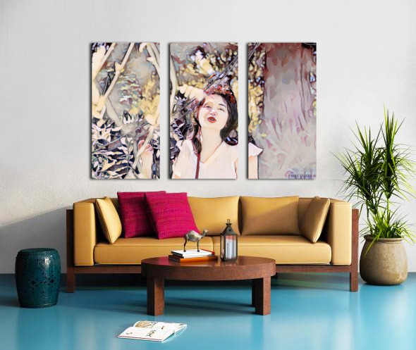 TELL ME MORE Art -Photo Collection  5-6 Split Canvas print