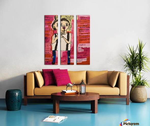 Madonna. Rick F Split Canvas print