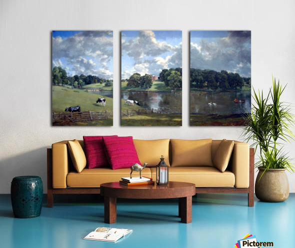 Wivenhoe Park by Constable Split Canvas print