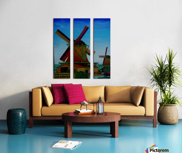 Catching The Wind Split Canvas print