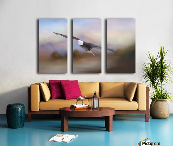 With the Winds Split Canvas print