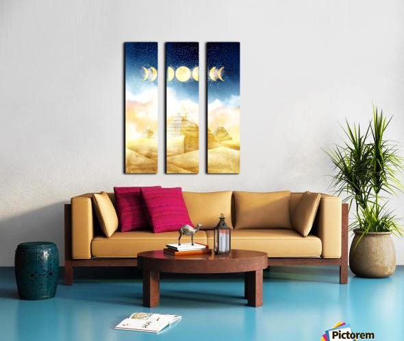 Dream Art XVI Split Canvas print