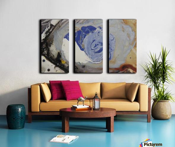 abstract women Split Canvas print