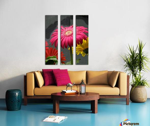 El Arte Del Amor Split Canvas print