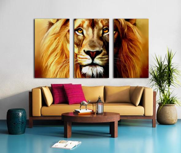 Majestic Beast  Split Canvas print