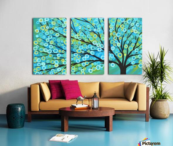 Blossoms   Split Canvas print
