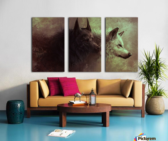 Call Of The Wild  Split Canvas print