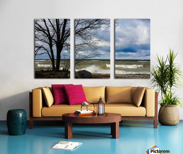 After the Storm Split Canvas print