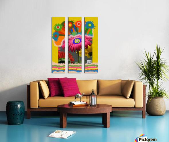 Love Is All Split Canvas print
