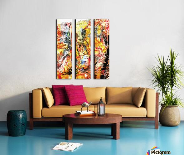 Quiet Companionship Split Canvas print