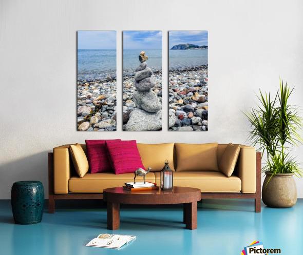 Llandundo beach Split Canvas print