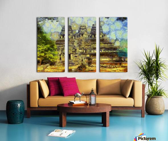 CAMBODIA 128 Angkor Wat  Siem Reap VincentHD Split Canvas print